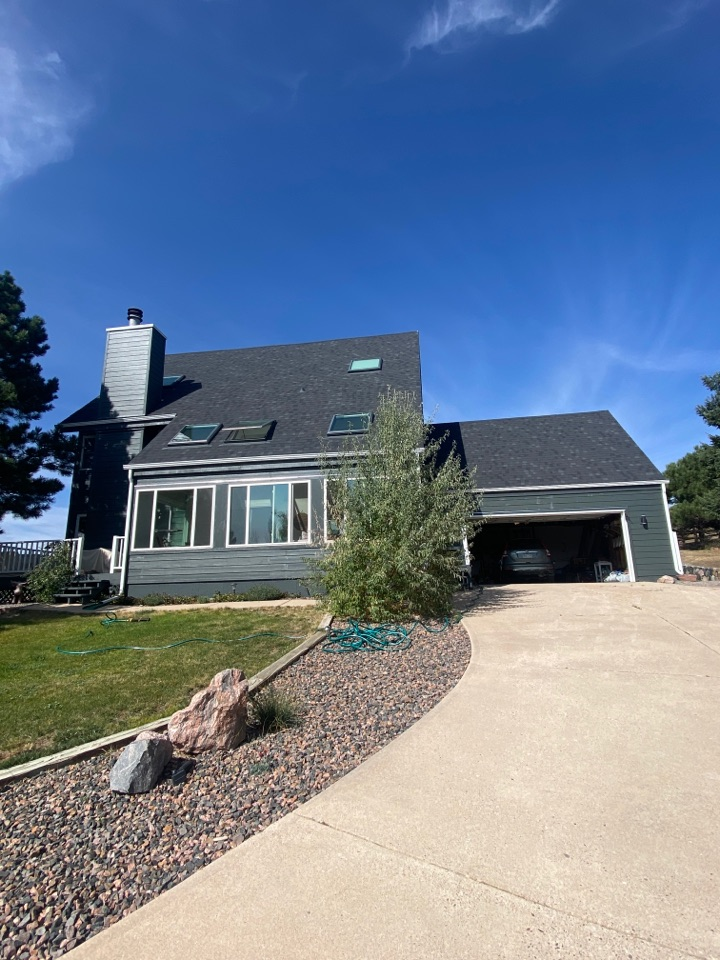 Parker, CO - Insurance bought this new residential roof