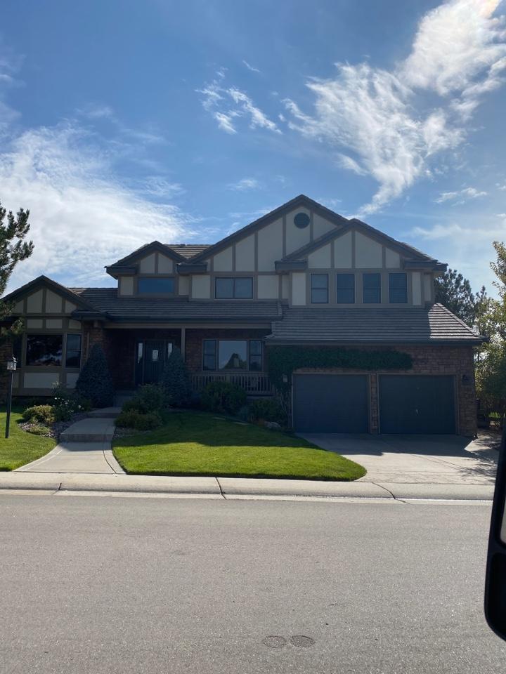 Parker, CO - New concrete tile roof - beautiful!!!