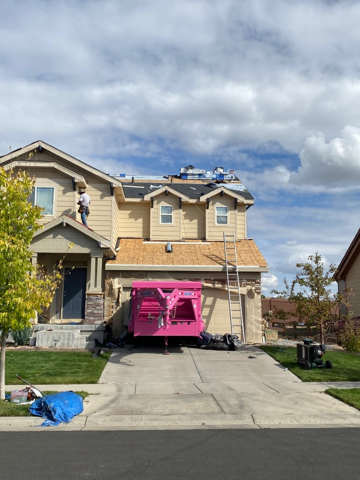 Parker, CO - New residential roof underway