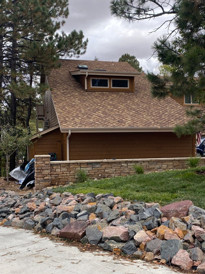Parker, CO - Hail storm caused a lot of roof damage and insurance is paying for a full roof replacement