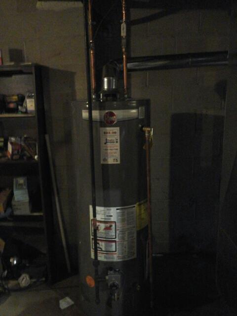 Hillsborough Township, NJ - Water hester installation same day 50 gallon rheem