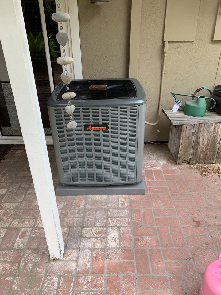 Anaheim, CA - Amana ac heater install