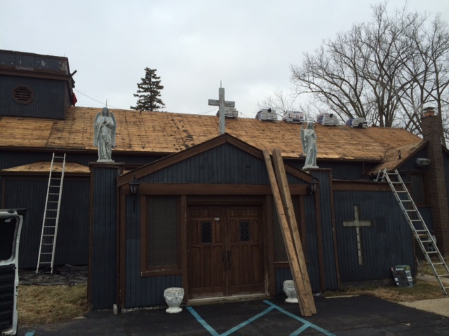 Pontiac, MI   American Standard Roofing Did A Complete Roof Replacement Job  For This Church