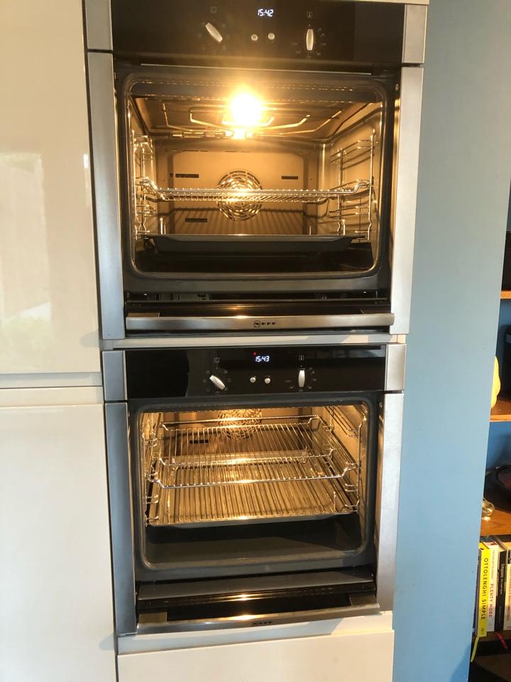 2 Neff single slide & hide ovens in Wombourne
