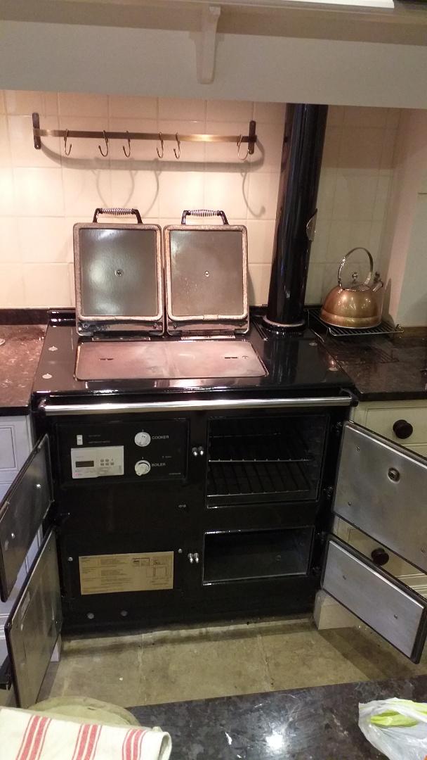 2 oven Rayburn & single oven