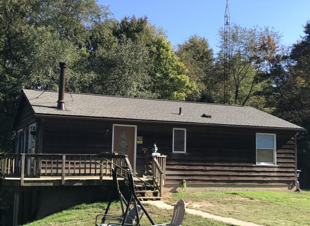 Stone Creek, OH - GAF weathered wood Timberline HD shingle roof.