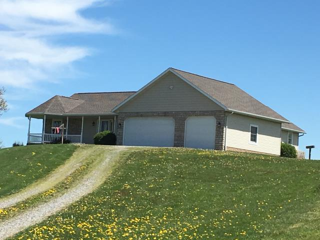 Dundee, OH - High on a hilltop in Dundee the Timberline HD Mission Brown shingles look awesome!