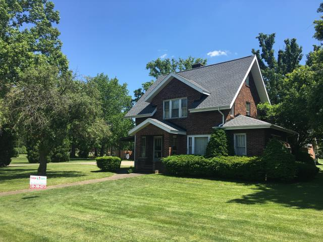 Dover, OH - Have a steep Roof?  Not a problem, take a look at this handsome GAF Timberline HD Pewter Gray roof.