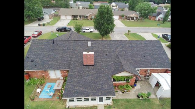 Decatur, AL - Owens Corning Duration 130 mph wind rated- Architectural Shingle Owens Corning Duraridge- High Profile Hip & Ridge Shingle COLOR- Black Sable