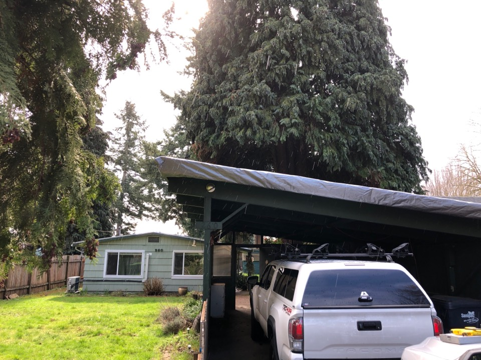 Eugene, OR - Looking at membrane roofing replacement.