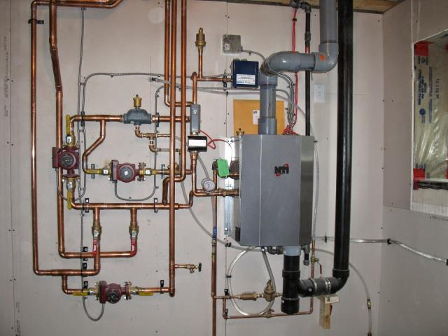 Caldwell, NJ - Heat exchanger boiler maintenance.