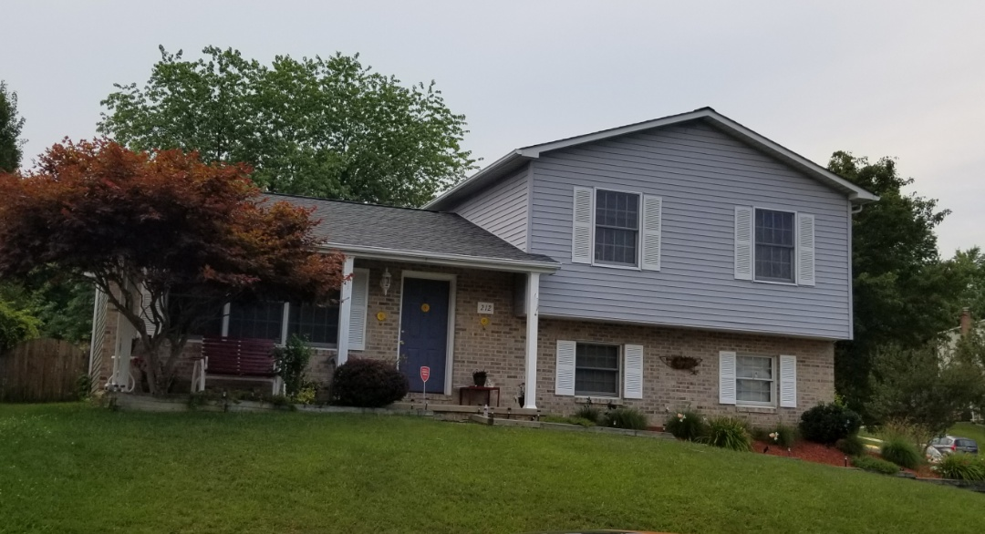 Havre de Grace, MD - Another roof replaced with GAF products! TimberlineHDZ in Pewter gray! Cobra Snowcountry Advanced ridge vent and Timbertex ridge caps!