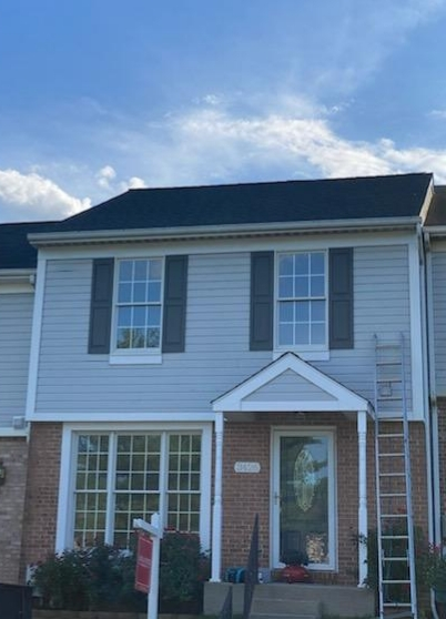 Havre de Grace, MD - Another finished roof using GAF products! TimberlineHDZ in charcoal! Cobra Snowcountry Advanced ridge vent! Timbertex ridge caps!