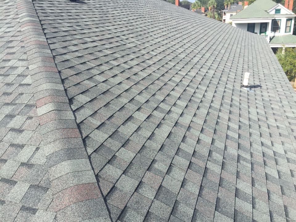 Savannah, GA - Performed a reroof with GAF fifty-year lifetime shingles