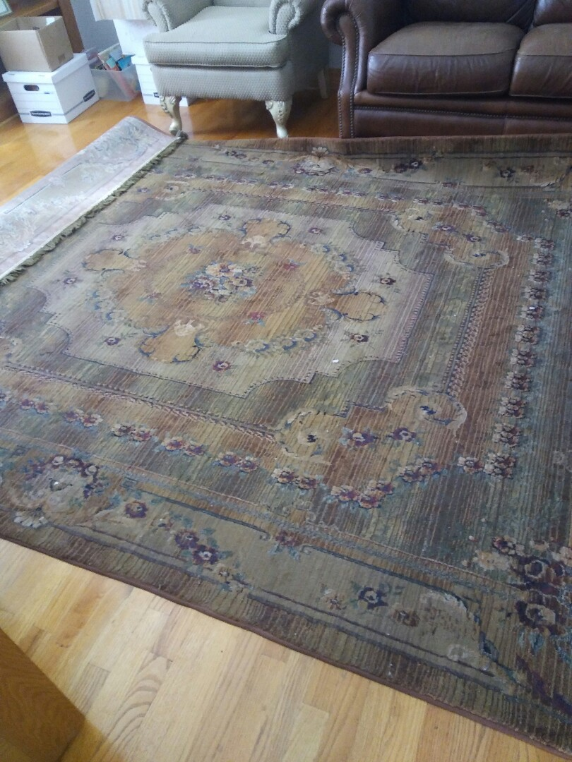 Elgin, IL - 2 area rugs cleaned