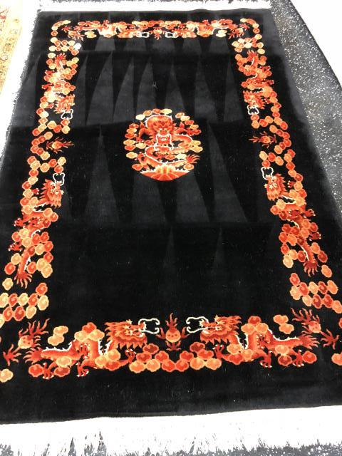 Chinese Wool Area Rug brought in for pet urine