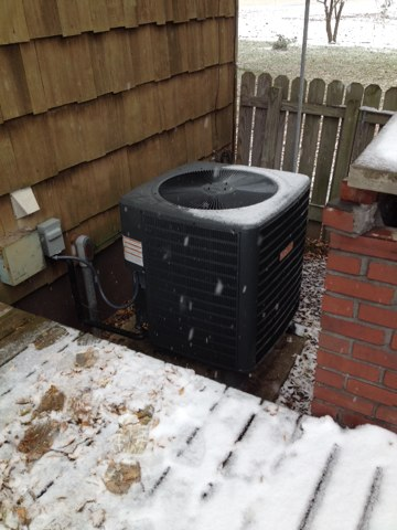 New Douglas, IL - Installed Tiger Signature Series heat pump with matching Tiger air handler with 15 KW heat strips.