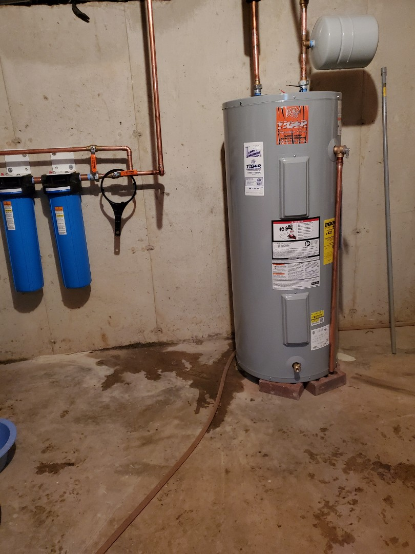 Troy, IL - Install new water heater