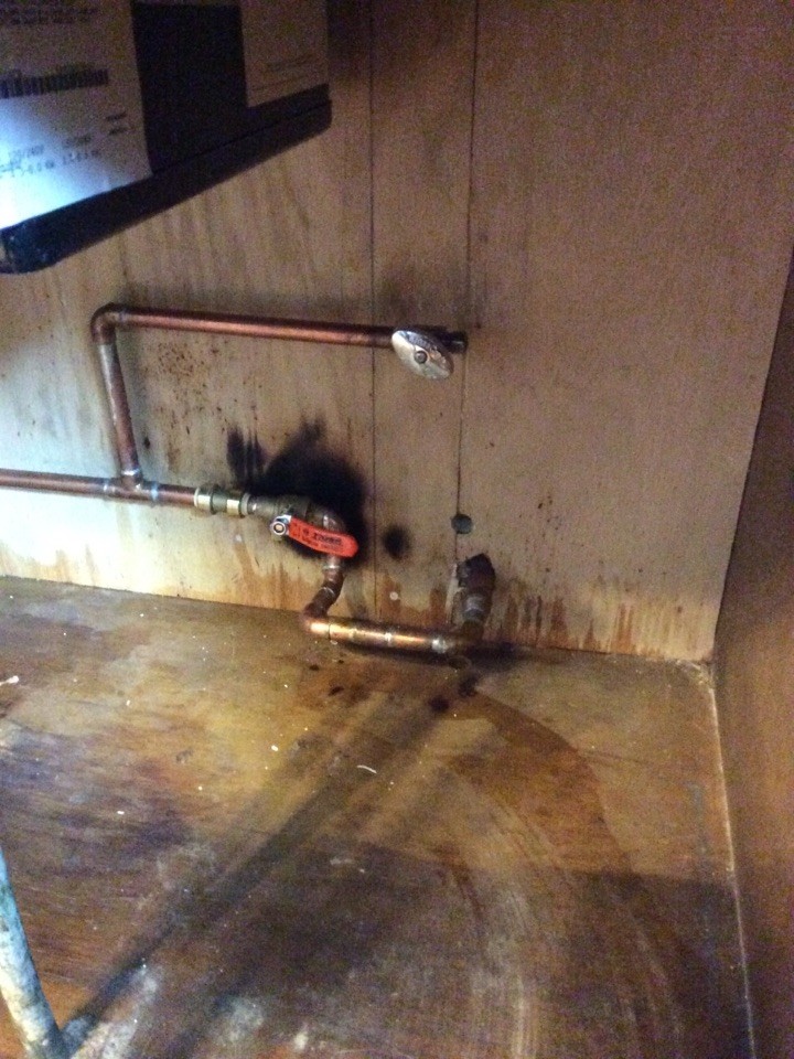 New Douglas, IL - Plumbing service, fixed a broken water line to an outside hose faucet that froze and busted this winter for a valued club member
