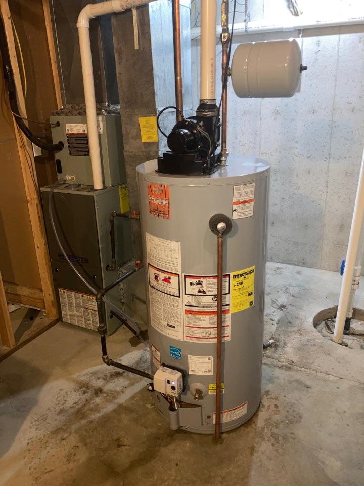 Water heater tank leaking