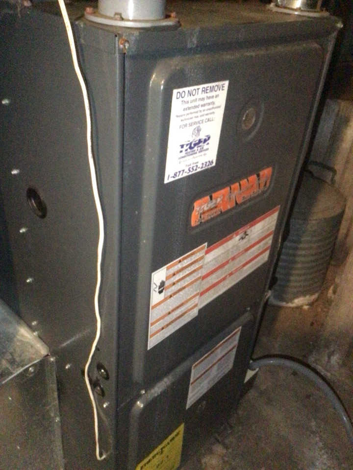 Pocahontas, IL - Furnace inspection
