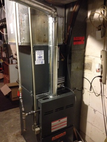Venice, IL - Installed new Tiger Signature Series furnace with matching AC And cased coil. New condensate pump and drain line as we'll.
