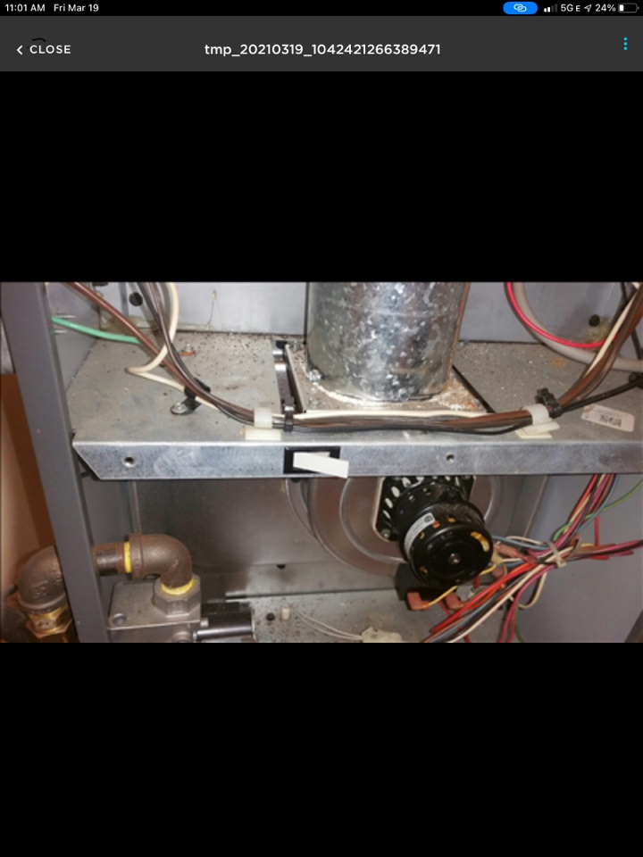 New Douglas, IL - Installed Furnace door switch