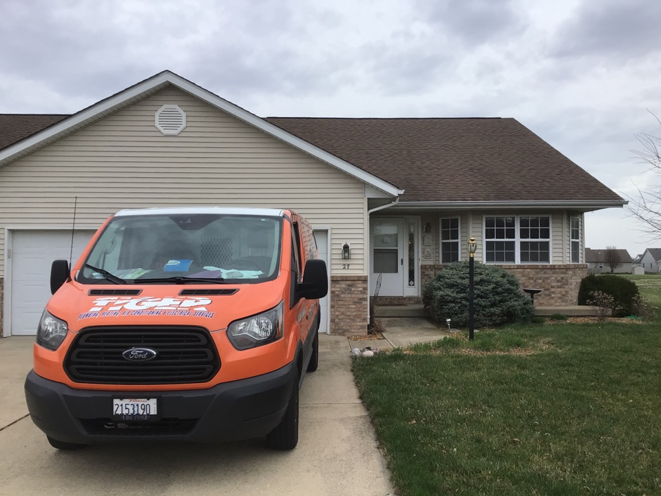 Chatham, IL - HVAC and Crawlspace inspection