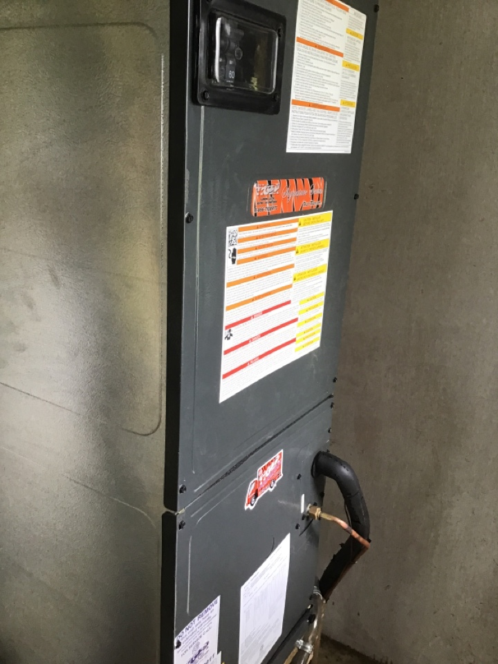 Madison, IL - Install new Tiger Signature Series electric furnace and air conditioner with static filter.