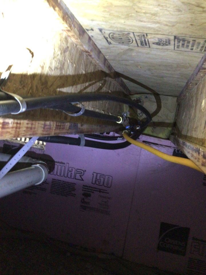 Chatham, IL - Hooking up gas line for gas heater in the garage