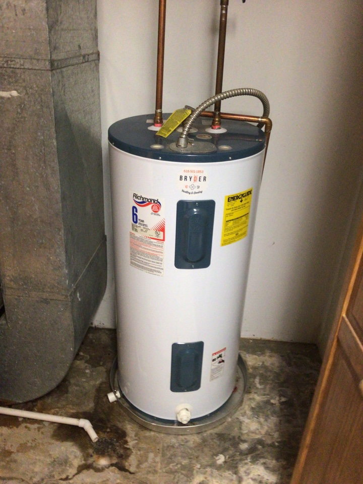 Greenville, IL - How water tank replacement