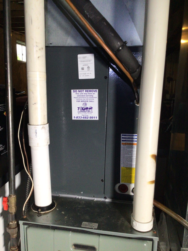 Madison, IL - Replaced Coil only