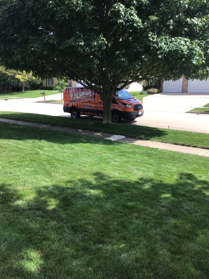 Bloomington, IL - Worked on AC unit.