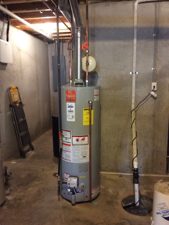 Alhambra, IL - Plumber needed for a plumbing service call. Installing a new Tiger Signature Series 50 gallon propane water heater and bringing everything up to code compliance to ensure many years of quality hot water.