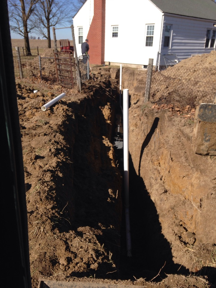 Shipman, IL - Plumber needed for a plumbing service call. Replacing a sewer line.