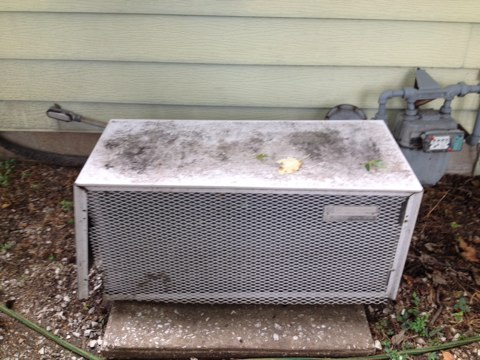 Hartford, IL - Sears air conditioner. Replaced contactor on Sears ac.