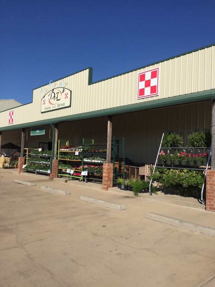 Celina, TX - Spring is here. This customer is already breaking out a nice selection of flowers.