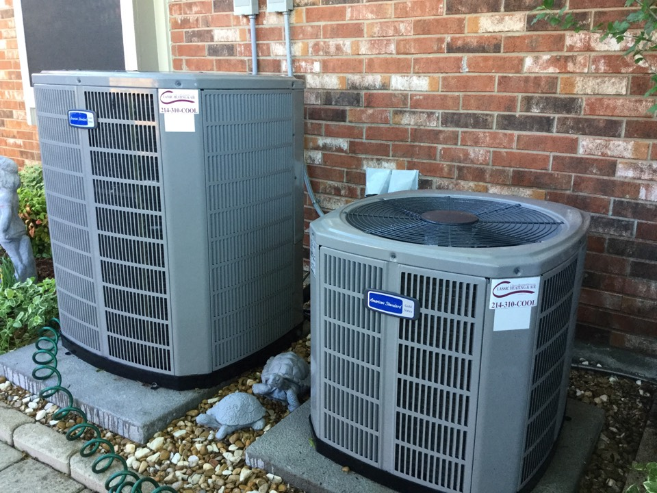 Murphy, TX - Clean/Check/Tune completed on two Gold series systems.