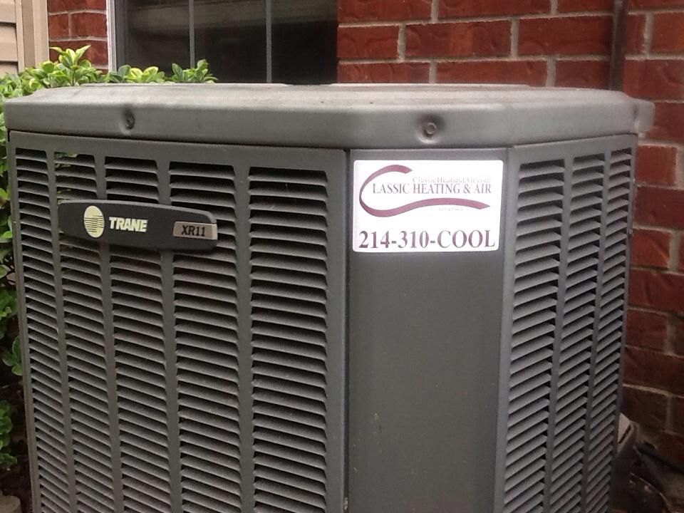 Garland, TX - Another successful AC repair here in Garland!