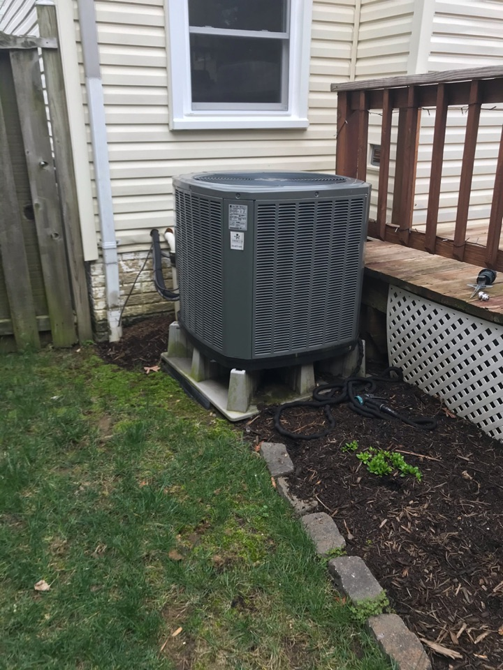 Performed Fall preventive maintenance and repair on Trane Heat Pump system.