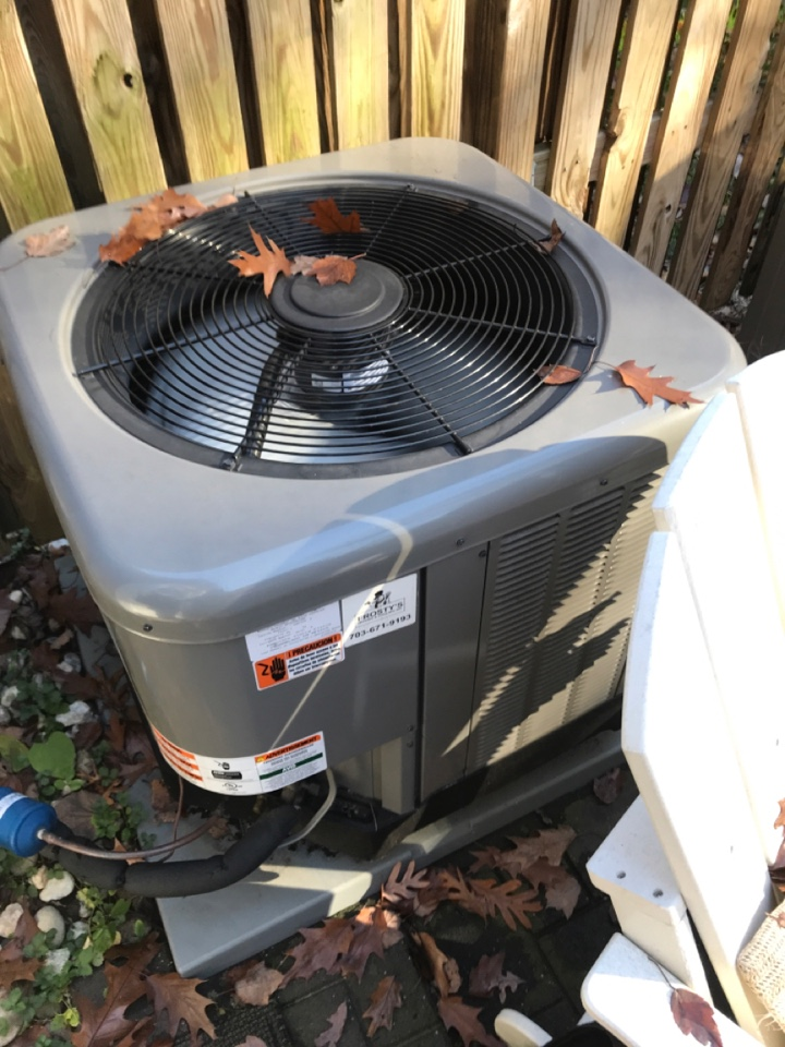 Arlington, VA - Performed diagnostics and repair on Rheem Heat Pump system.