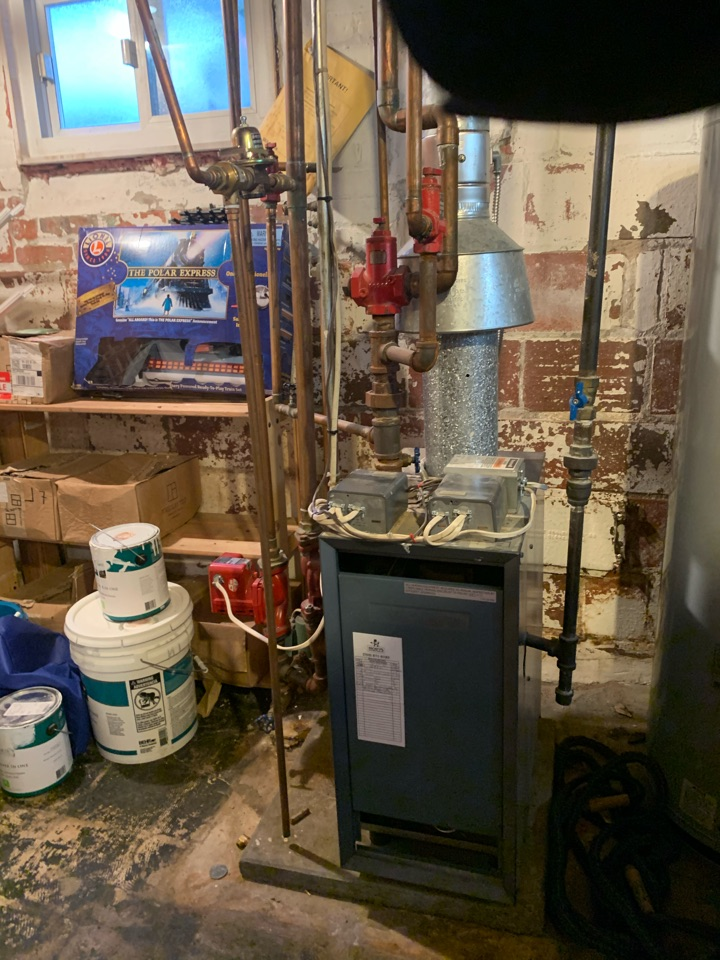 Performed diagnostics on Weil McLain Gas Boiler.