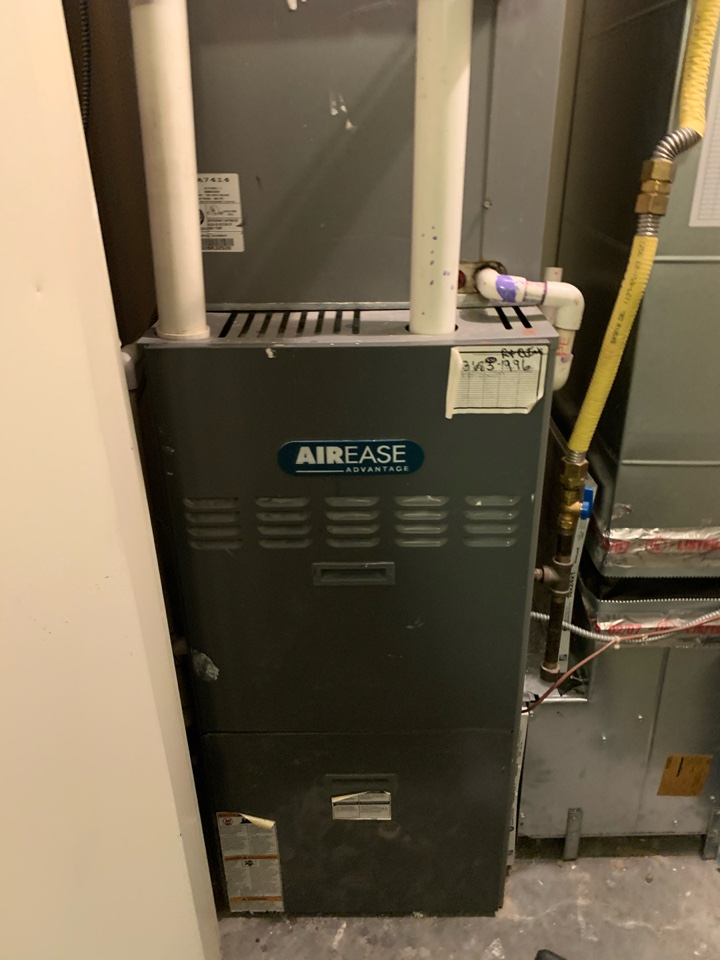 Alexandria, VA - Performed repairs on Aire Ease Gas Furnace.