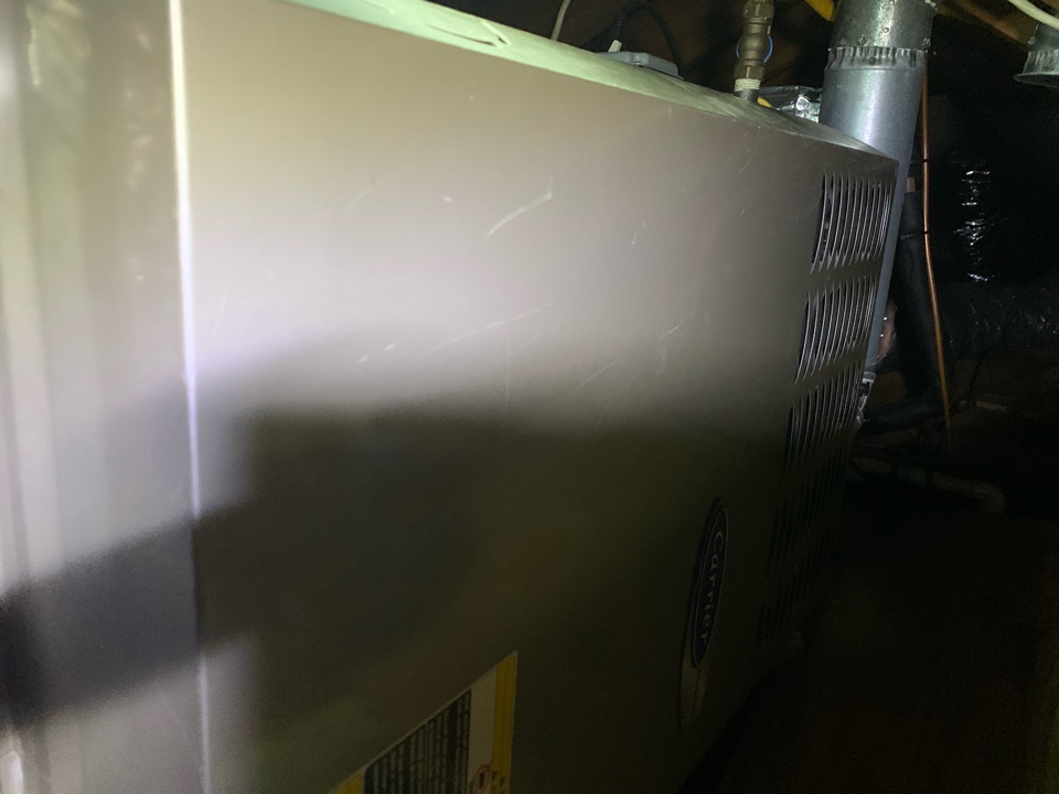 Alexandria, VA - Performed diagnostics and repairs on Carrier Gas Furnace.
