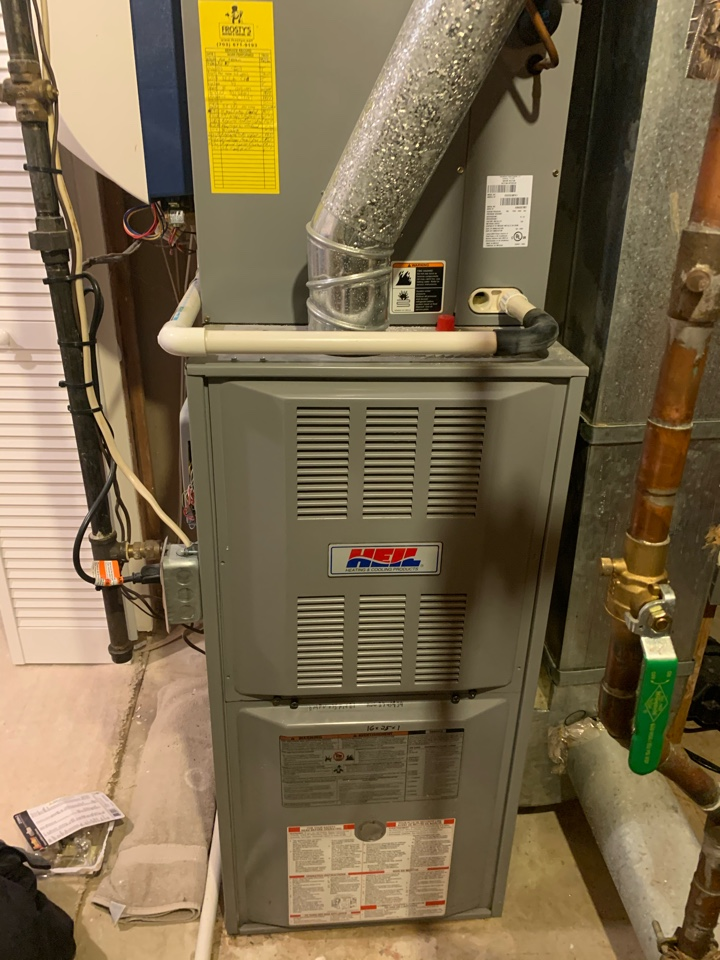 Performed diagnostics and repair on Heil Gas Furnace.