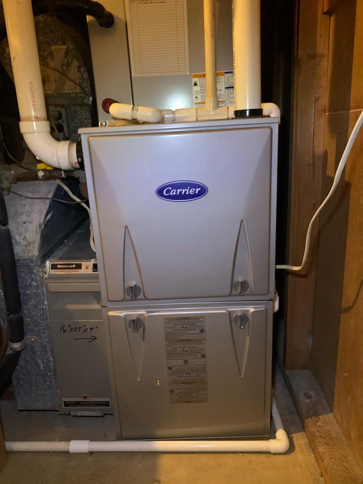 Performed preventive maintenance and repairs on Carrier Gas Furnace.