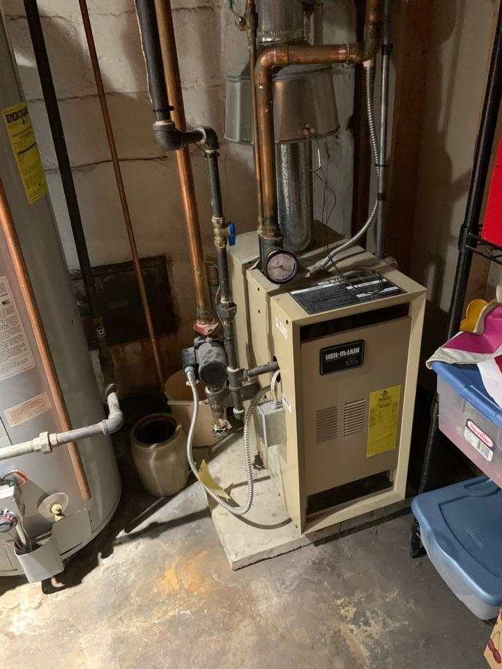 Arlington, VA - Performed preventive maintenance on Gas Boiler.