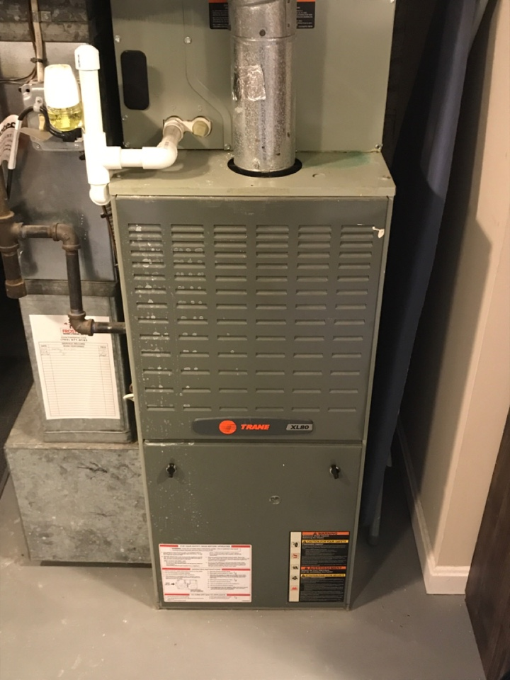 Alexandria, VA - Performed diagnostics and repairs on Trane Gas Furnace.