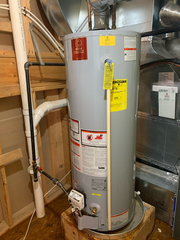 Alexandria, VA - Performed diagnostics and repairs on State Gas Water Heater.