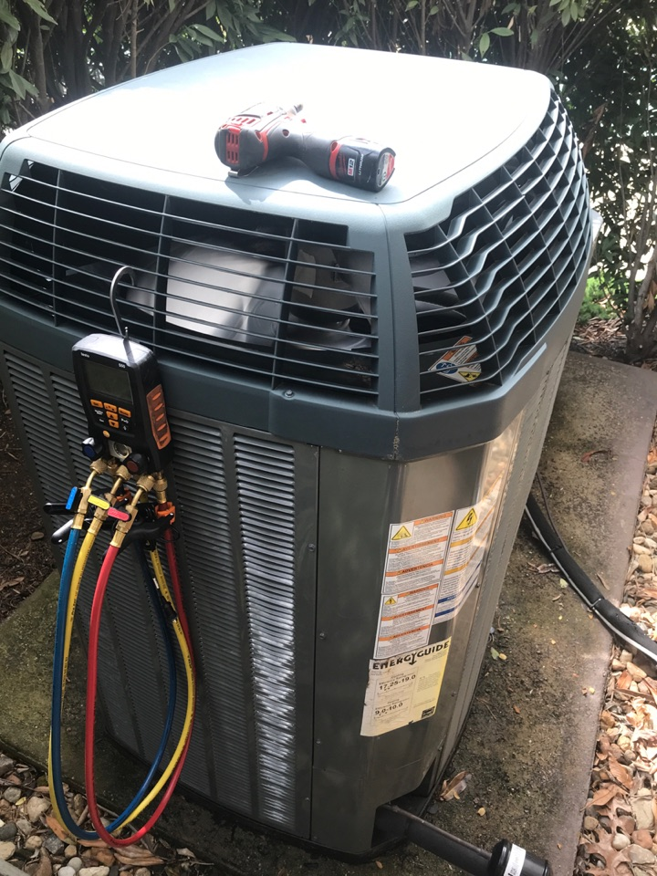 Woodbridge, VA - Performed diagnostics and repairs on Trane Heat Pump system.